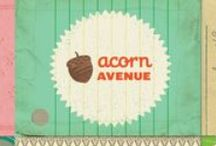 Acorn Avenue Collection / Acorn Avenue Collection, released Summer 2012 by Crate Paper. Fall and Autumn craft inspiration.