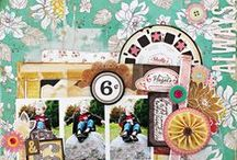 DIY Shop Collection / Lovely projects created using our DIY Shop Collection, released Winter 2013 by Crate Paper.