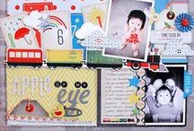 Little Boy Blue Collection / Little Boy Blue Collection, released Winter 2012 by Crate Paper.