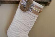 Stockings / Christmas stockings DIY / by Shebra Claypool