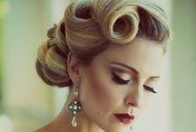 Vintage Wedding MU&Hair