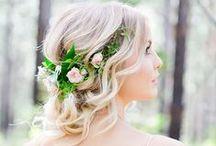 Boho Wedding MU&Hair Looks