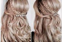 Half-Up Wedding Hairstyles