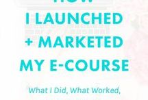 Digital Products: Ebooks & Ecourses Info / Ebook and course creation for bloggers and online entrepreneurs. How to write and launch an ebook, how to create an e-course and market it. Everyhting you need to know about creating digital products and selling them online.