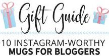 Gift Guide For Bloggers / Looking for gift ideas for bloggers? Here is the ultimate gift guide for bloggers, online entrepreneurs, and creatives. Perfect for Christmas! blogging tips, blogging for beginners, blogging for money
