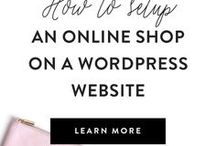 Online Shops & Ecommerce / Opening an online shop? This board is all about e-commerce tips for physical products sellers. Etsy shop, shopify store, WooCommerce online store. Selling online.