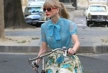 Celebrities on Bikes / Even famous people do it! And you can look just as stylish with CycleStyle.com.au