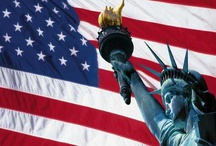 America / USA, US, patriotic, WWII, posters, fireworks, heroes, history / by Marcie Fleischman