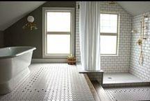 Interiors { Bathrooms }