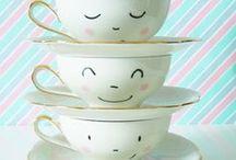 Cup of tea / Tablero con imágenes relacionadas a una de mis pasiones y gusto diario: el té :) / by Mónica Escobar