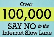Say No to Internet Slow Lanes / Big Telecom is about to impose expensive new fees on smaller websites, creating an Internet Slow Lane for everyone except giant conglomerates.  Many of your favourite websites could slow to a crawl.  U.S. FCC Chair Tom Wheeler is about to cave to Big Telecom's demands at a crucial meeting. We only have 48 hours to tell the FCC to back off their Internet Slow Lane plan. Send your message now.