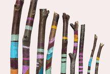 Tribal Sticks + Stones