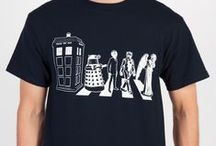Doctor Who / Whovians - deck yourself out in style. And don't blink.