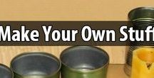 DIY Household Items / Learn how to make your own soap, candles, cleaners, health & beauty products, medicine, and other household items. It's fun, and it will save you a lot of money.