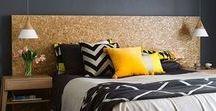Inspiration chambre / A la recherche d'une ambiance cosy, tons de gris & touche dorée ...