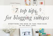 Blogging tips / Great tools, tips and tricks for creating an amazing blog and website.
