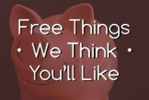 Free things that we think you'll love...