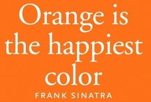 Favorite Color Orange / Orange, Favorite, Patrickcollin