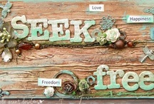 2013 Vision Board ~ Seek Freedom