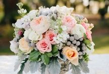 Wedding Floral Design / Inspiration for floral design, flowers, centerpieces, bouquets