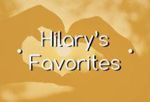Hilary's Favorites