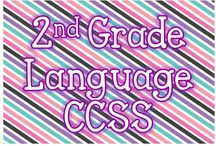2nd Grade Language CCSS / Resources and Activities for 2nd Grade Language CCSS