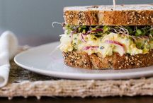 sandwiches & lunch spreads / To go lunch ideas for my day job