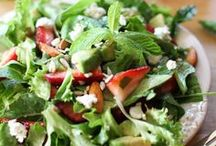 scrumptious salads / creative salads for lunch and beyond