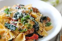pasta pleasers / Pasta dishes I must make