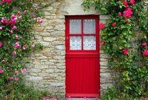 Sweet Home / porte d'entrée / by Eonisra