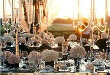 OUTDOOR weddings / {wedding planning} elegant alfresco wedding inspiration board : ispirazioni allestimenti matrimonio all'aperto in estate