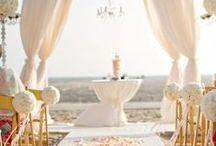 Wedding CEREMONY IDEAS / {wedding planning}  ceremony aisle and seating : idee allestimento cerimonia chiesa e matrimonio giardino per rito religioso e civile