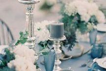 INKY NAVY INDIGO weddings / {wedding planning} ocean colours wedding inspiration : colori dell'oceano per un matrimonio insolito e originale