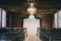"""URBAN LOFT INDUSTRIAL weddings / """"You've got to go to the city""""."""