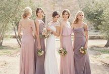 MAUVE & DUSTY ROSE weddings