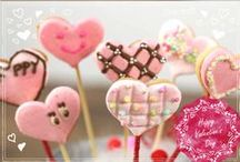 Valentine's Day sweet / Recipes for your sweet making for the Valentine's Day. Besides from recipe using chocolate to make, we also present way to use various ingredients such as marshmallow to create more fun and variety for this special love day.    by 7 Cut Recipe  http://7cutrecipe.com/