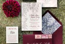 NAVY & BURGUNDY weddings