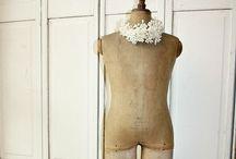 Antique mannequins