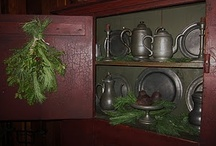 Home Decor - Country style / Colonial America, American, patriotic, primitive, prim, 1700s, 1800s / by Michelle Thiel