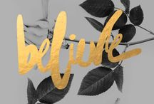 Beautiful stationery & typography  / by Ella de Villiers