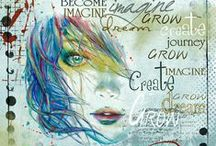 Art Journaling / This board is for all kinds of art journaling. / by Jeanie Warner