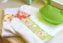 Flour Sack Dishtowels / Beautiful flour sack dishtowels and diy design ideas.