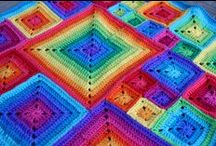Babette's Blanket / Crochet and knitting baby blanket ideas.