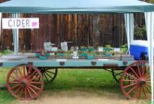Produce Trailers / Creative fruit and vegetable carts.