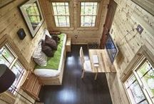 Tiny Houses / Design ideas, kitchens, bathrooms for small houses.
