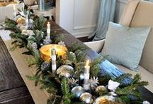 Christmas Dreams FrenchGardenHouse Style / #holiday# decor #interior