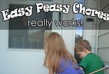 Easy Peasy Chore Time! / Easy Peasy Chores ebook is a downloadable chore chart for kids with colorful job cards and lots of fun suggestions.