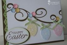Cards for Easter / This board is for Easter cards. / by Jeanie Warner