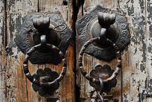 'She knocked and waited, because when the door was opened from within, it had the potential to lead someplace quite different..' / Enchanted doors.. A story behind each..