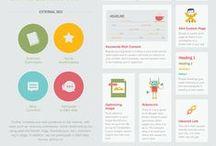 ★ Infographics ★ / Ou comment informer 'autrement'